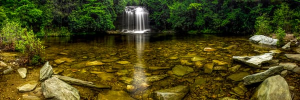 Clear Waters Of Schoolhouse Falls Photography Art | Red Rock Photography