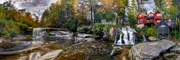 Elysium Falls Photography Art | Red Rock Photography