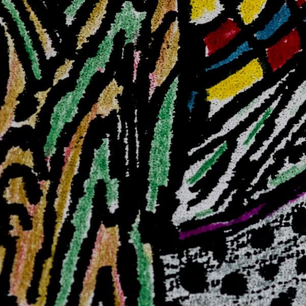 Gleaned Image 22 C Art by The Improvisational Art of Aldo Borromei