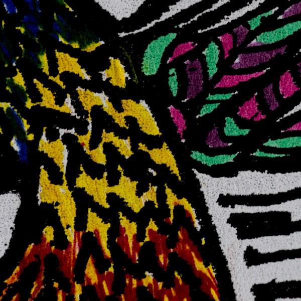 Gleaned Image 22 B Art by The Improvisational Art of Aldo Borromei