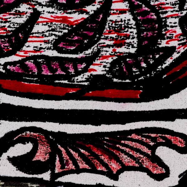 Gleaned Image 24 B Art by The Improvisational Art of Aldo Borromei
