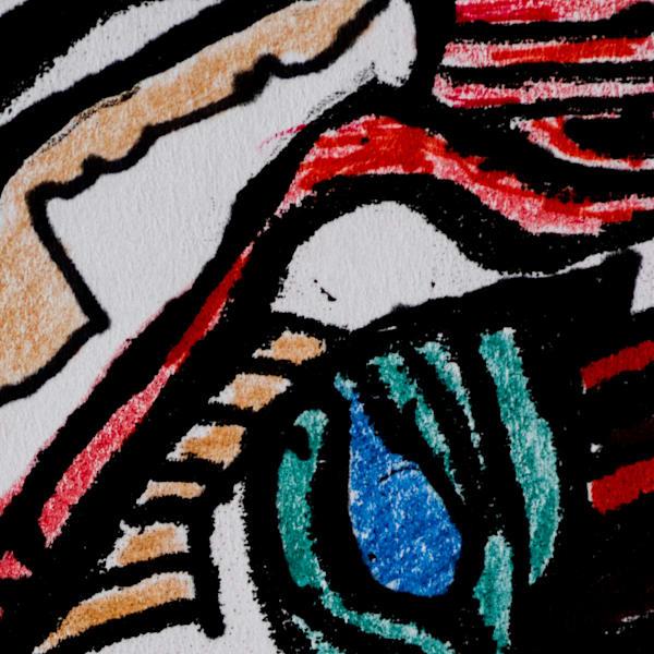 Gleaned Image 24 C Art by The Improvisational Art of Aldo Borromei