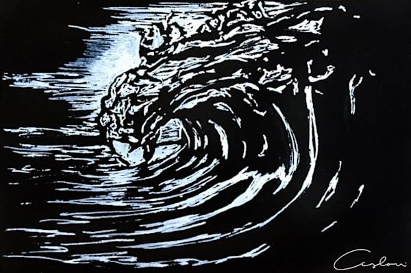 Black & White Wave Study