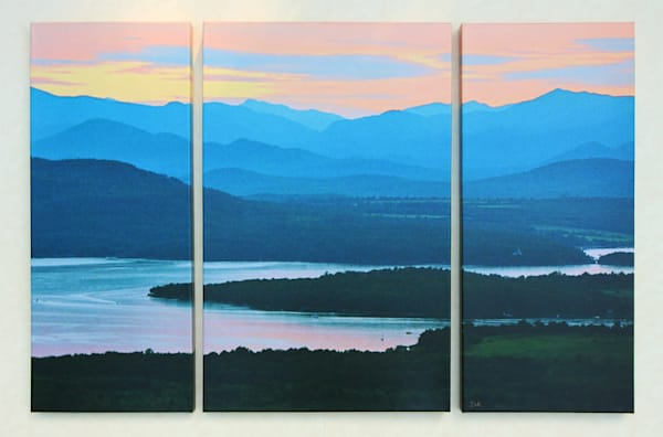 """Afterglow"" - Large Triptych"