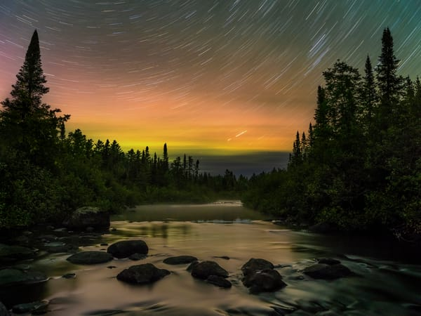 Temperance River Star Trails