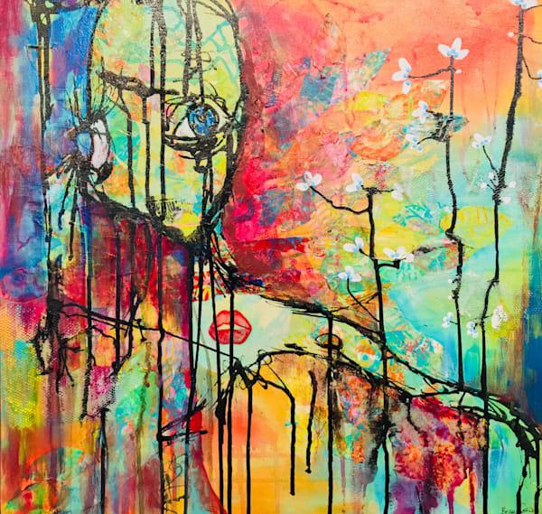Growing Into Myself Art   Becka Watkins Art