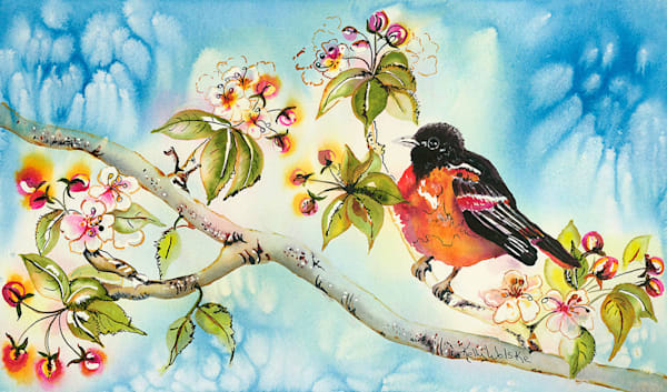 """I Smell Spring"" fine art print by Kelly Wolske."