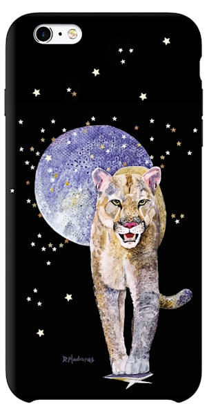 Bad Moon Rising Mountain Lion Phone Case