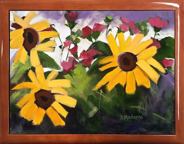 Wooden Keepsake Box   Southwest Gifts   Three Sunflowers