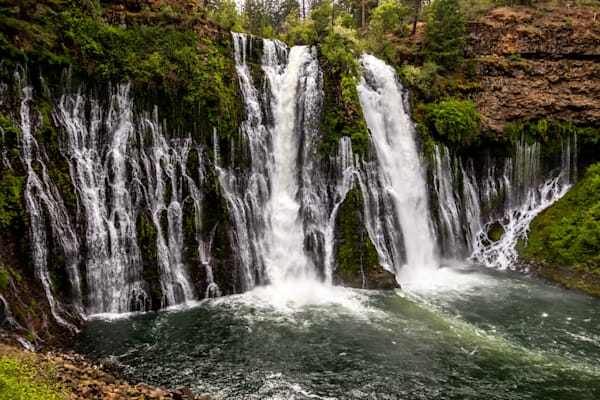 Burney Falls From The Trail Photography Art | Catherine Balck Photography