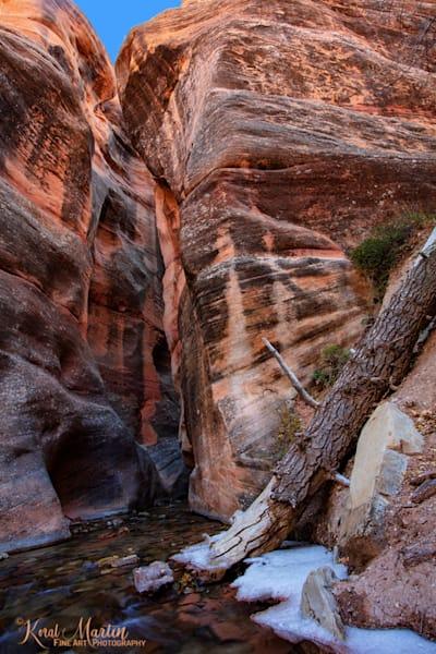 Kanarraville Slot Canyon Photograph 2974 | Kanarra Creek | Slot Canyon Photography | Utah Photography | Koral Martin Fine Art Photography