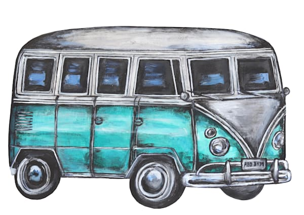 Hippy Van 2019 Art | Art By Dana
