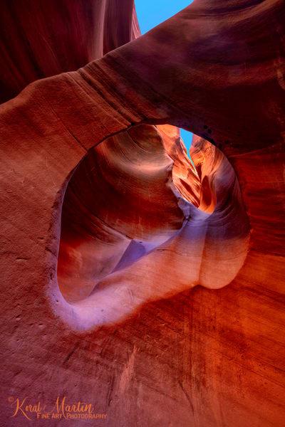 Peek A Boo Slot Canyon Photograph 2136| Slot Canyon Photography | Escalante Utah Photography | Koral Martin Fine Art Photography