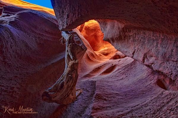 Spooky Gulch Slot Canyon Photograph 2369 | Slot Canyon Photography | Escalante Utah Photography | Koral Martin Fine Art Photography