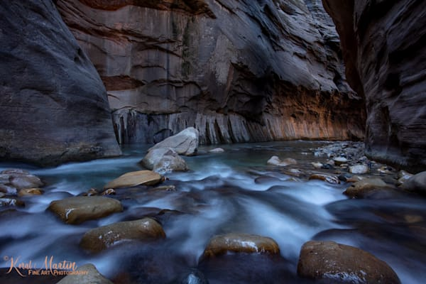Zion Narrows View Near Junction Photograph 2906 | Zion Narrows | Zion National Park | Canyon Photography | Koral Martin Fine Art Photography