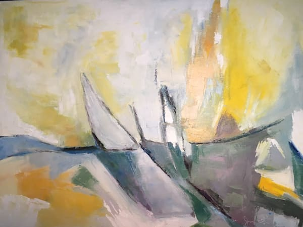 Abstract Sailboats Art | East End Arts