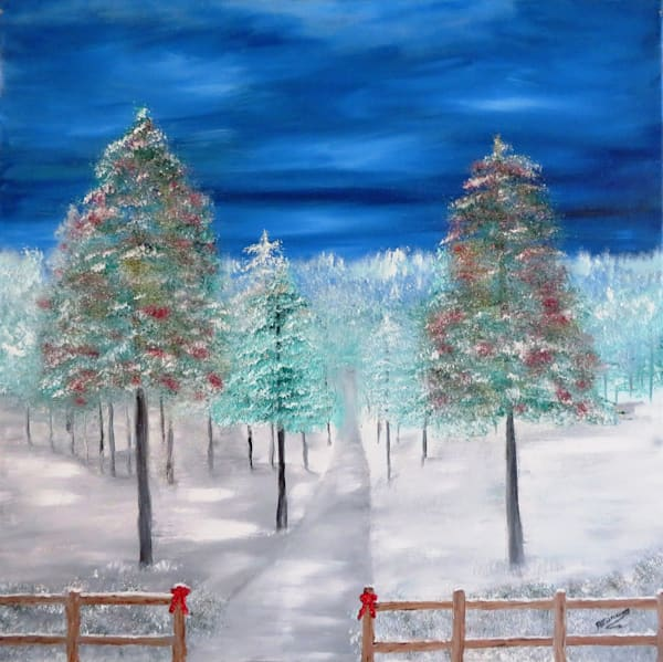 Christmas In The Country Art | Artist Ron Turner