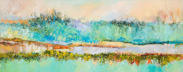 Mayo clinic painting abstract landscape painting health care commission tracy lynn pristas gentlest echo 24h x 60w dixk46