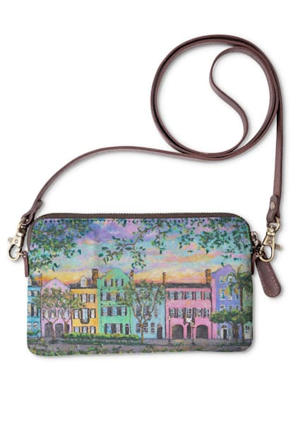 Rainbow Row Clutch | Fer Caggiano Art