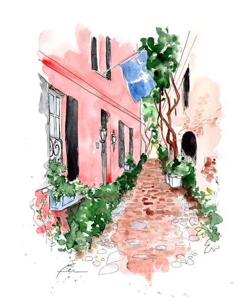 Charleston Cobblestone Alley