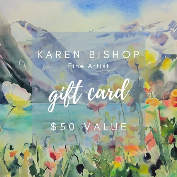 $50 Gift Card | Karen Bishop Artist