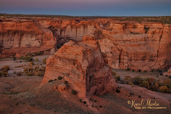 Sunset Canyon De Chelly View 3437   Art | Koral Martin Fine Art Photography