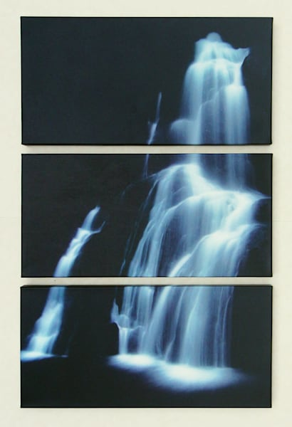 """Ghost Falls"" - Regular Triptych"