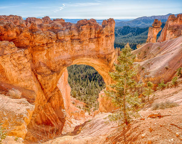 Bryce Canyon Natural Arch Art | Michael Blanchard Inspirational Photography - Crossroads Gallery