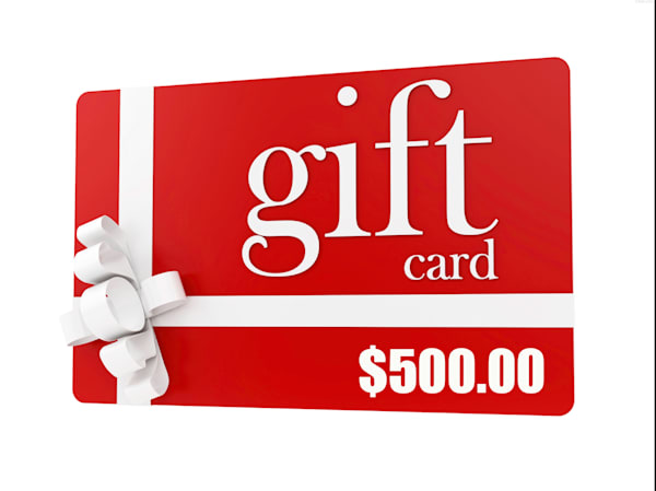 $500.00 Gift Card towards Prints