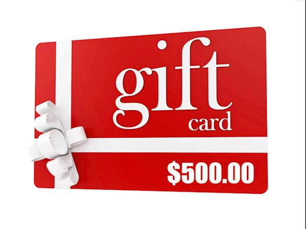 $500.00 Gift Card Towards Prints | Thomas Schoeller Photography