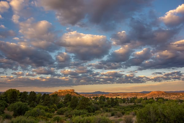 """Photograph of """"The Rock"""" in Castle Rock Colorado at Sunrise"""