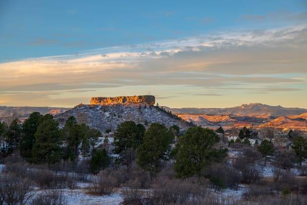 Photo of Crisp Fall Morning in Castle Rock Colorado - Prints for Sale