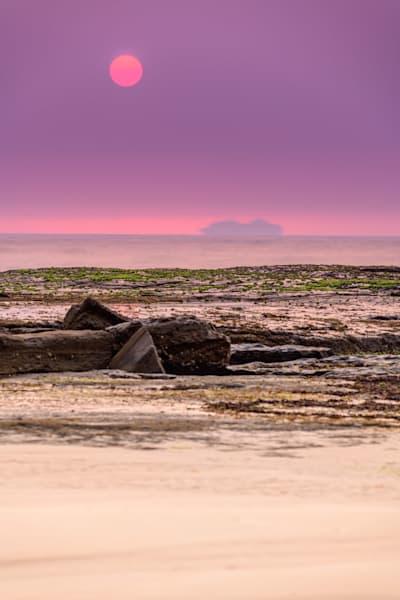 Tragic Beauty - Susan Gilmore and Bar Beach Newcastle NSW Australia Sunrise