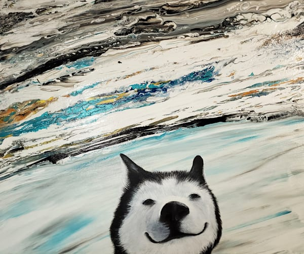 Happy Husky Art | Alice MC