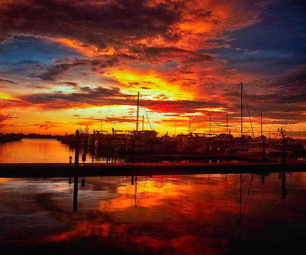 Fire In The Stuart Sky Art | Mark Stall IMAGES