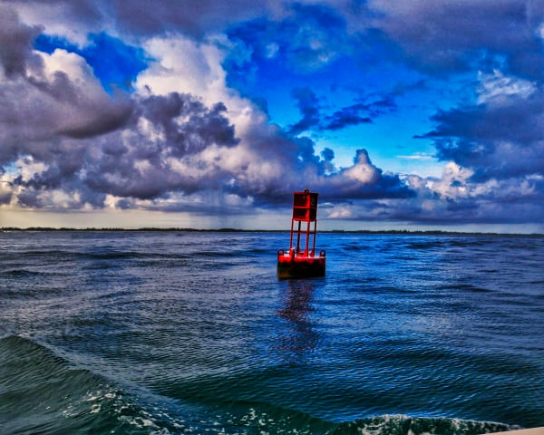 The Red Buoy Art | Mark Stall IMAGES