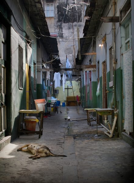 A Panama Alley Scape Photography Art | Mark Stall IMAGES
