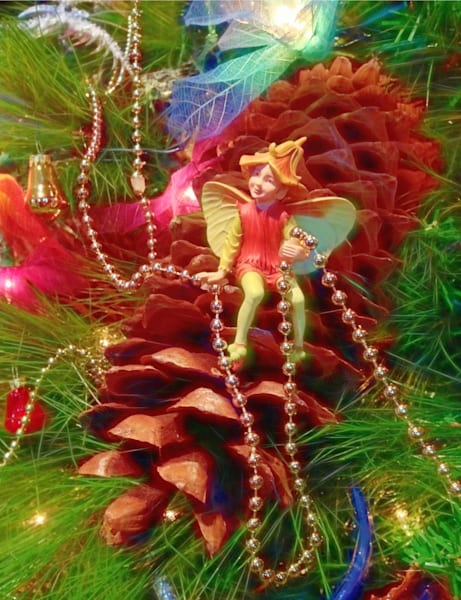 Christmas Tree Fairy Art | toddbreitling