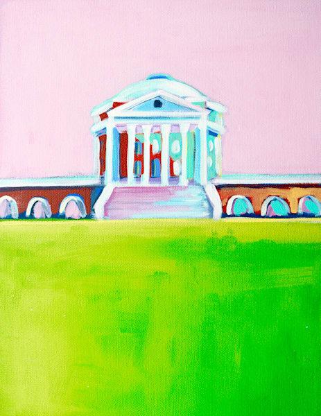 Uva Rotunda Print 5 X 7 Pink Sky | Lesli DeVito