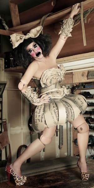Sassy Devine. The Doll Photography Art   Kristofer Reynolds Photography