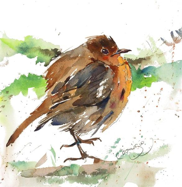 Fat Robin Iii Art | Patrick Dominguez Art