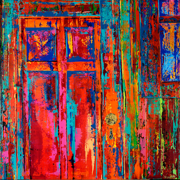 Red Door Art | benbonart