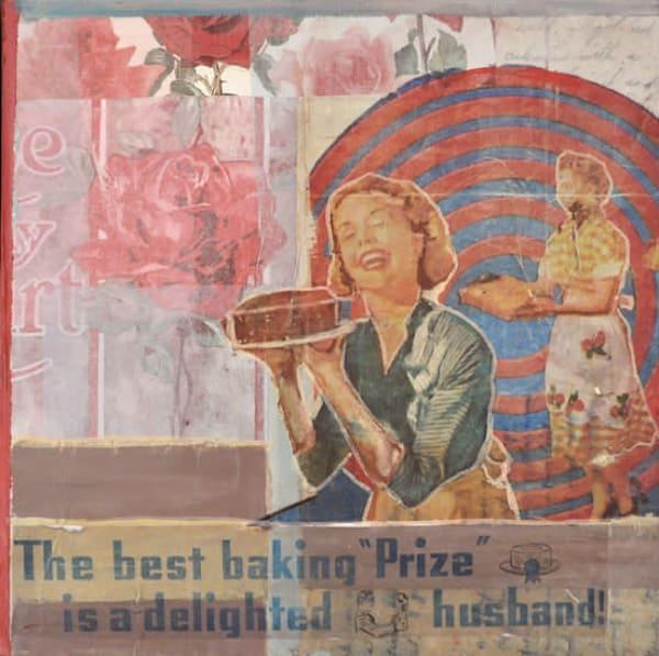 Her Prize  Sold Art   memoryartgirl
