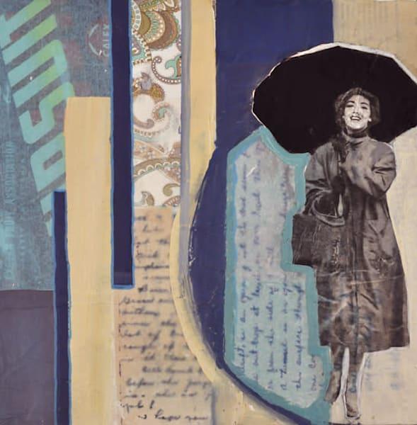 Her Story In The Rain Art | memoryartgirl