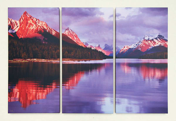 """Glimmerglass"" - Large Triptych"