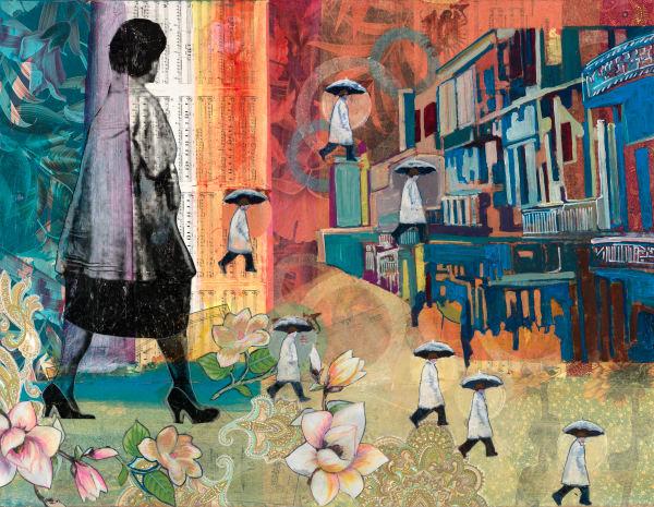 She Walks In Beauty Art by memoryartgirl.com