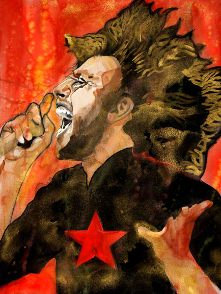 Zack De La Rocha Art | William K. Stidham - heART Art
