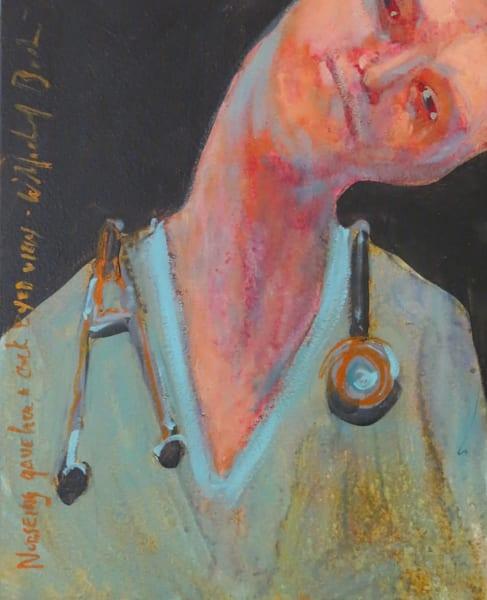 """Nursing Cockeyed View"" Art | C.A.S.H. Art ""all things artistic"""