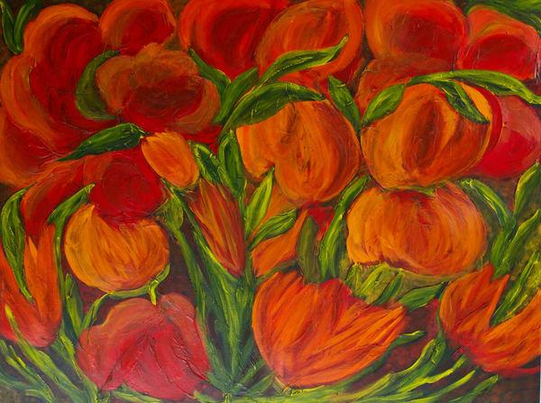 Field Of Flowers Art | Marie Art Gallery