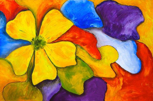 Petals In The Wind Art | Marie Art Gallery